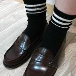 秋・冬の大人の女性におすすめのローファー×靴下コーデ12選