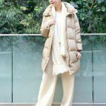 【防寒しながらおしゃれに】ダウンコートを着た時のマフラーコーデ5選